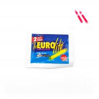 Eurolite Knicklicht 2er Packung Rot 4,5mm Angeln Fishing