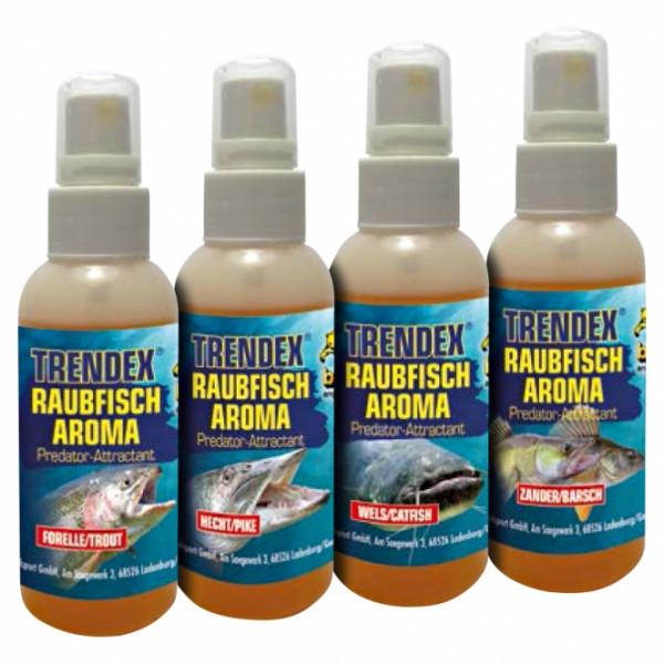 Behr Trendex Raubfisch Aroma Öl Spray Lockstoff 30ml Flasche Wels