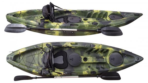 Grapper AngelKayak Pike X Green Army Camo 2021 Edition Showroom Model