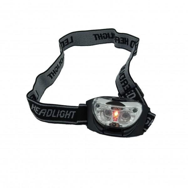 Behr Kopflampe 3 LEDs Rot weiss schaltbar