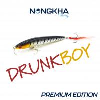 Nongkha Fishing Wobbler Drunk Boy Premium Limited Edition Zander Hecht Barsch Rapfen